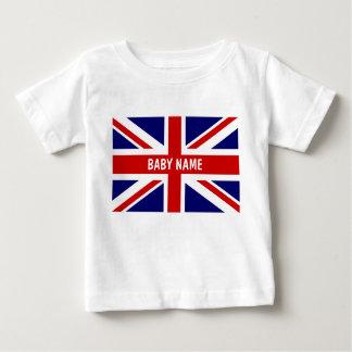 Le bébé d'Union Jack principal le drapeau de | T-shirt