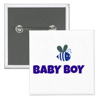 Le bébé gaffent l'abeille badge