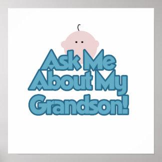 Le bébé posent des questions sur mes cadeaux de pe affiches