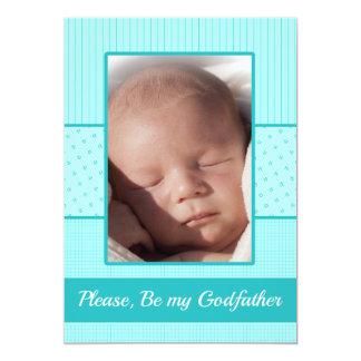 Le bébé soit mon invitation de parrain