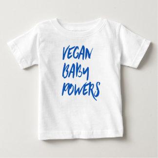 """""""Le bébé végétalien actionne"""" la chemise de bébé T-shirt Pour Bébé"""