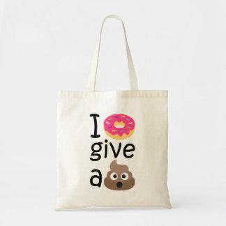 Le beignet I donnent un emoji de dunette Sacs De Toile