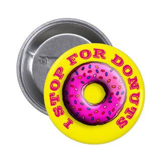 Le beignet rosâtre avec coloré arrose + vos idées badges