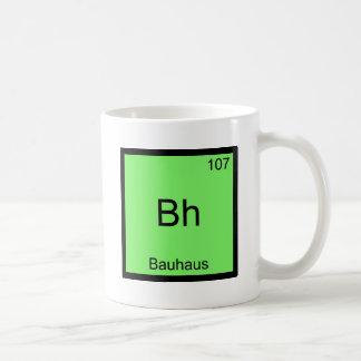Le BH - Pièce en t drôle de symbole d'élément de Mug Blanc
