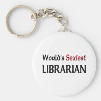 Le bibliothécaire le plus sexy du monde porte-clef