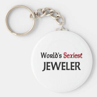 Le bijoutier le plus sexy du monde porte-clé rond
