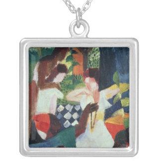 Le bijoutier turc pendentif carré