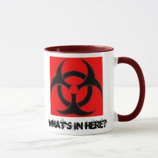 Le Biohazard, ce qui est dedans ici ? - tasse