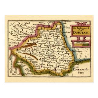 Le Bishopprick de la carte du comté de Durham,