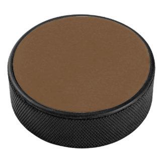 Le blanc de modèle ajoutent le logo de photo palet de hockey