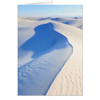 Le blanc ponce le monument national carte de vœux
