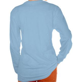 Le Bleu Ciel de Cabernet CHA Femme de T-shirt