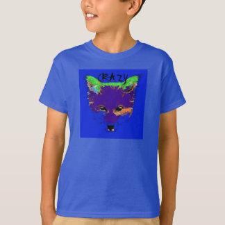 Le bleu fou aiment un T-shirt d'enfants de Fox