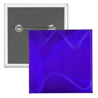 Le bleu ondule I Badge