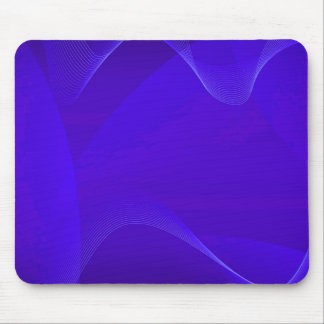 Le bleu ondule I Tapis De Souris