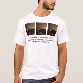 le bonaparte, bonaparte, bonaparte, n'attribuent t-shirt