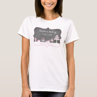 Le bonbon traite des affaires de boulangerie de t-shirt