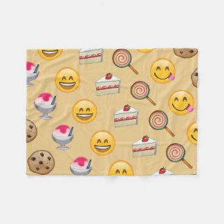 Le bonbon traite Emojis Couverture Polaire