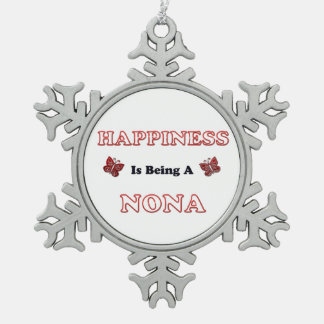 Le bonheur est des Forces navales de la Norvège Ornement Flocon De Neige