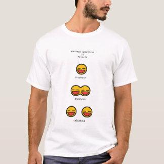 Le bonheur est mitose t-shirt
