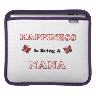 Le bonheur est Nana Housse Pour iPad