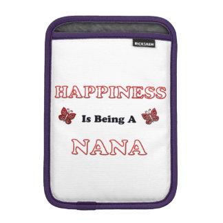 Le bonheur est Nana Housse Pour iPad Mini