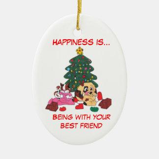Le bonheur est… ornement de Noël