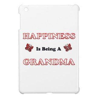 Le bonheur est une grand-maman coques iPad mini