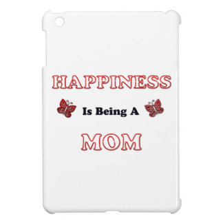Le bonheur est une maman coque pour iPad mini