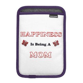 Le bonheur est une maman housse pour iPad mini