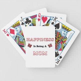 Le bonheur est une maman jeu de cartes