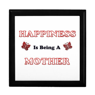 Le bonheur est une mère boîte à souvenirs