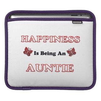 Le bonheur est une tante housse pour iPad