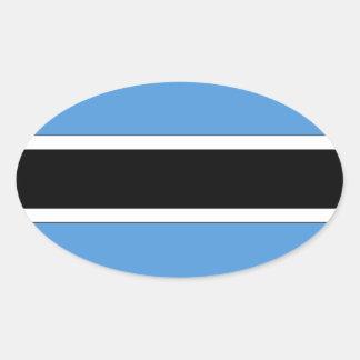 Le Botswana Stickers Ovales