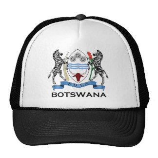 Le BOTSWANA - drapeau/emblème/manteau des bras/sym Casquette De Camionneur