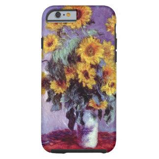 Le bouquet des tournesols, Monet, cru fleurit Coque Tough iPhone 6
