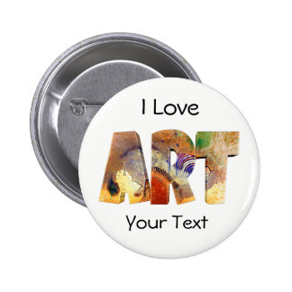 Le bouton de l'amant d'art badges