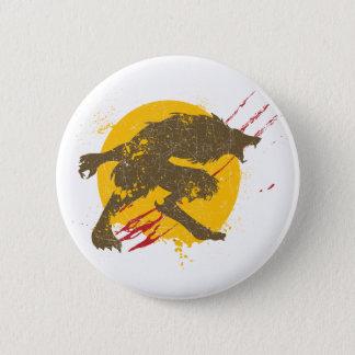 Le bouton de loup-garou pin's