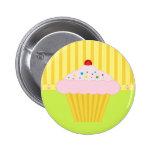 Le bouton de petit gâteau pin's avec agrafe