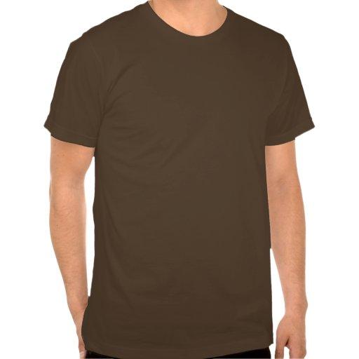 Le bouton poussoir, reçoivent le lard - distribute t-shirts