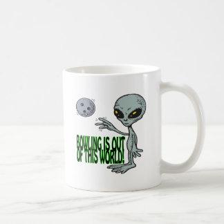 Le bowling est hors de ce monde mugs à café