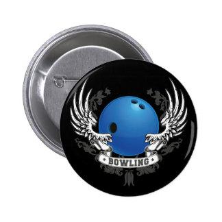 Le bowling s'envole le bouton badge