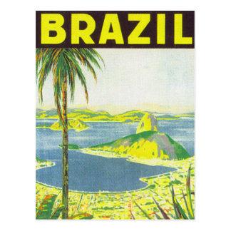 Le Brésil Carte Postale