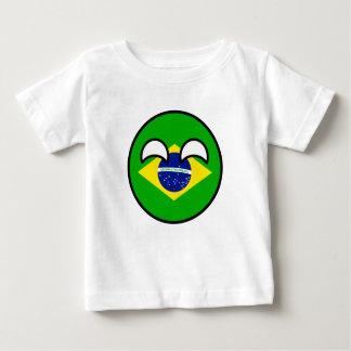 Le Brésil Countryball T-shirt Pour Bébé