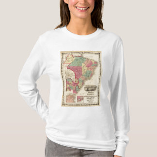 Le Brésil, la république d'Argentine, le Paraguay, T-shirt