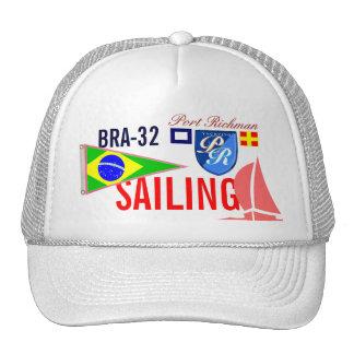 Le Brésil naviguant BRA-32 nautique Casquette
