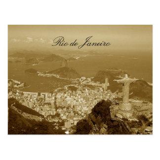 Le Brésil, Rio de Janeiro Carte Postale