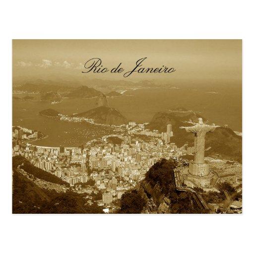 Le Brésil, Rio de Janeiro Cartes Postales