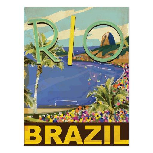 Le Brésil - Rio de Janeiro Carte Postale