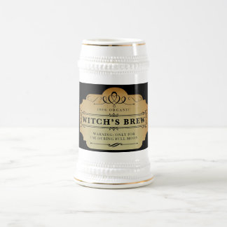 Le Brew de la sorcière organique Chope À Bière
